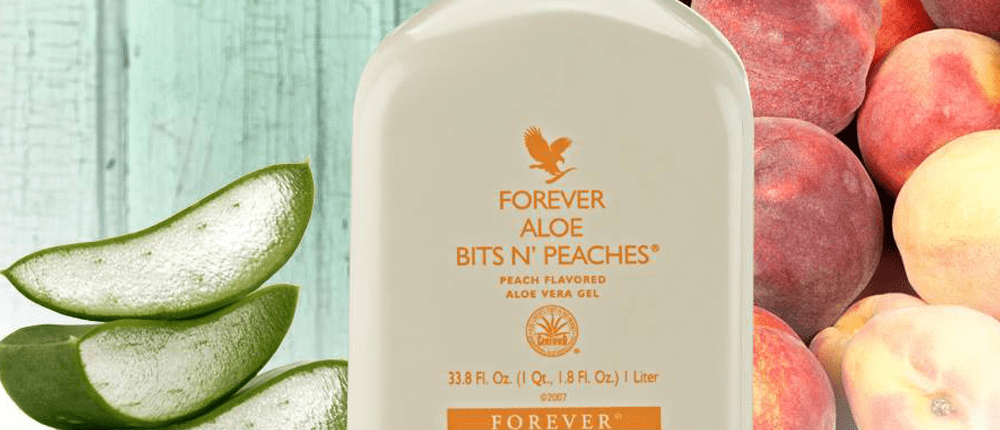 Forever Aloe Bits and Peaches