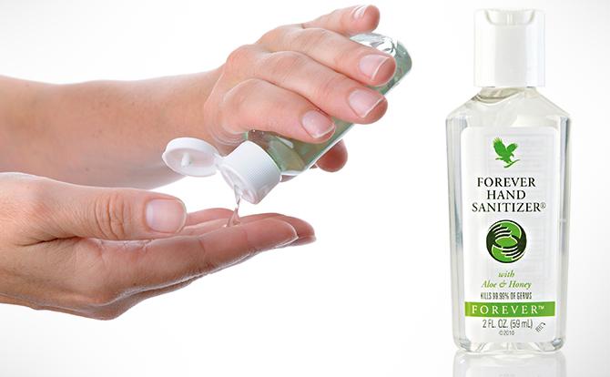 Comprar Forever Hand Sanitizer con Aloe y miel España